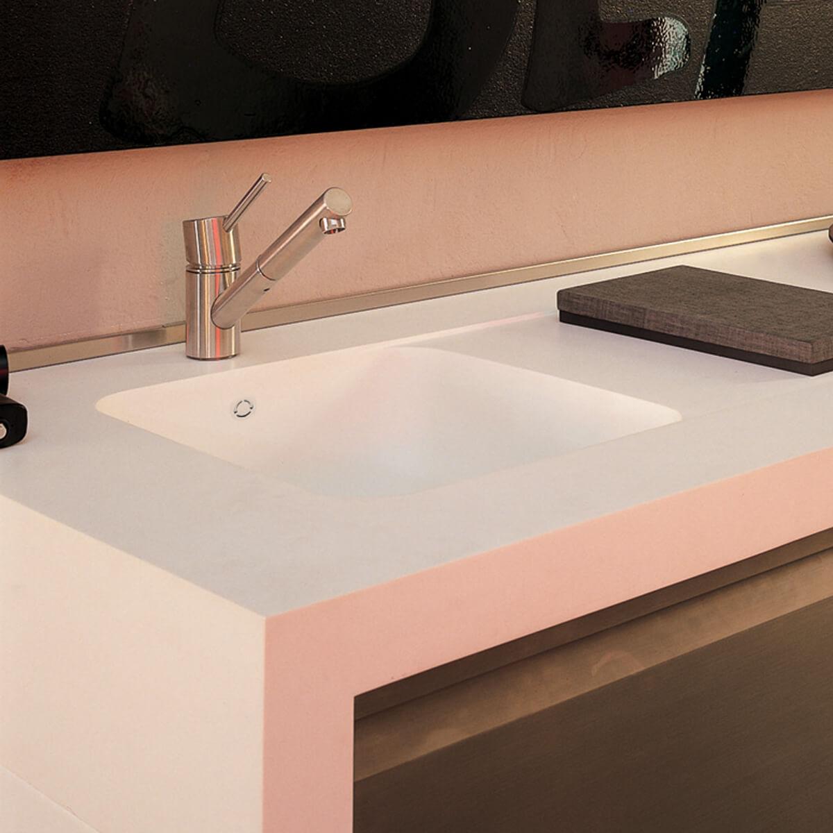 CASF corian sink sweet 804 kitchen