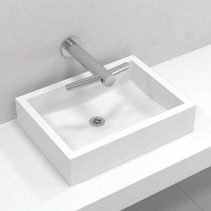 Corian® top mount basin single 315