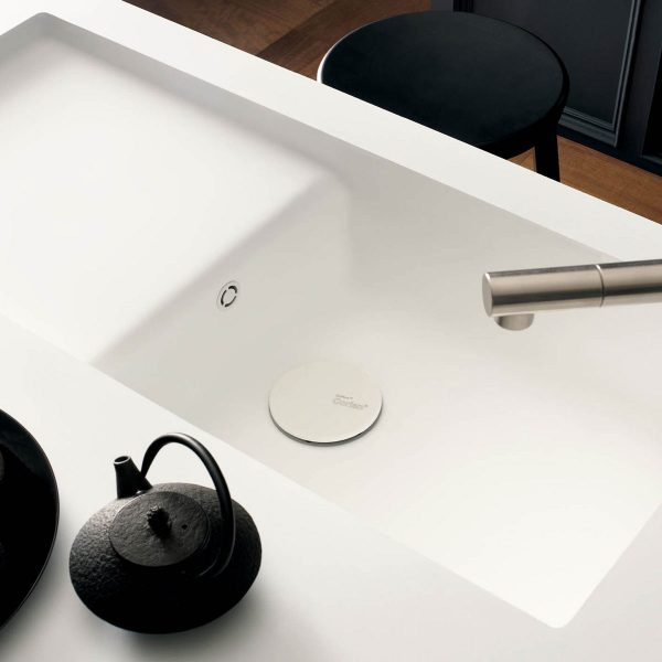 Corian® Spicy 9920 integrated sink