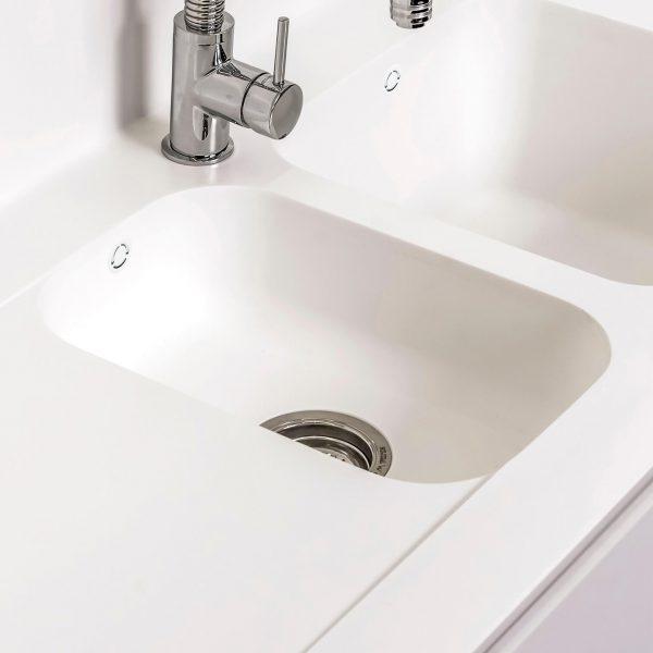 CASF Corian sink sweet 809 kitchen double