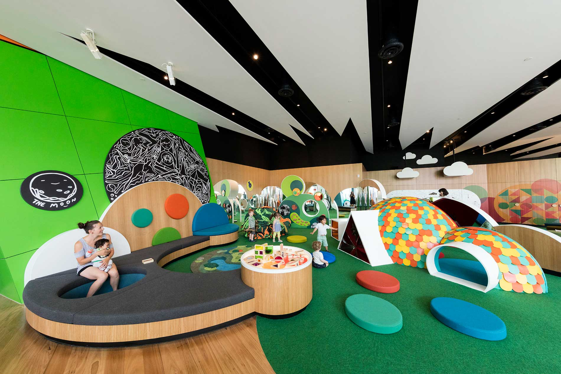 Melbourne Museum Kids Exhibition With Corian