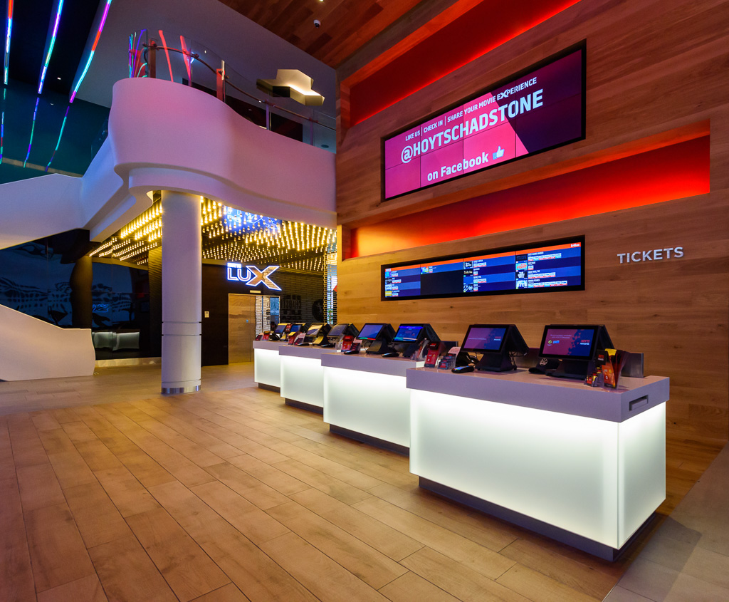 vstyle Hoyts Corian ticket counter