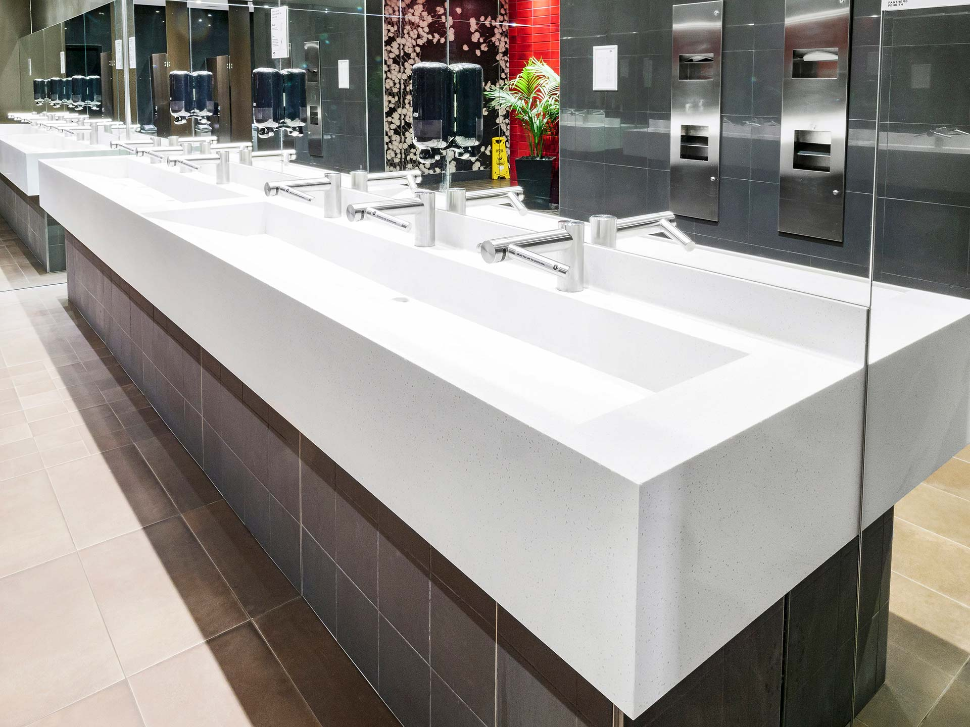 Penrith Panthers Corian washplanes Aspen (3)