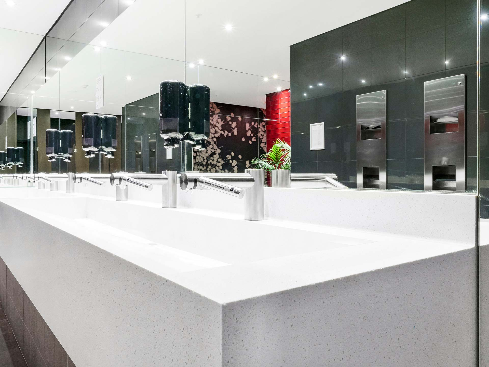 Penrith Panthers Corian washplanes Aspen (2)