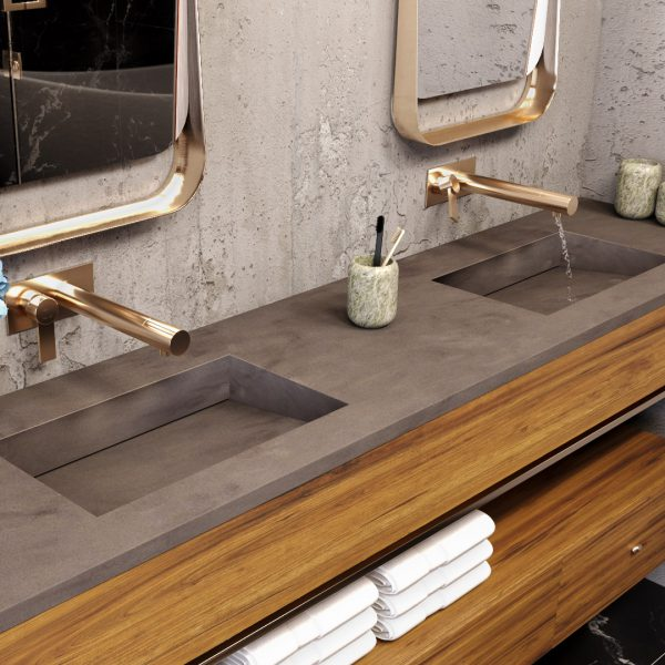 corian-multi-basin-washplane-Residential-Bathroom-two-person