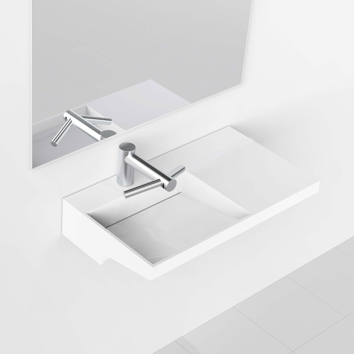Corian® Accessible Washplane 3211L 900