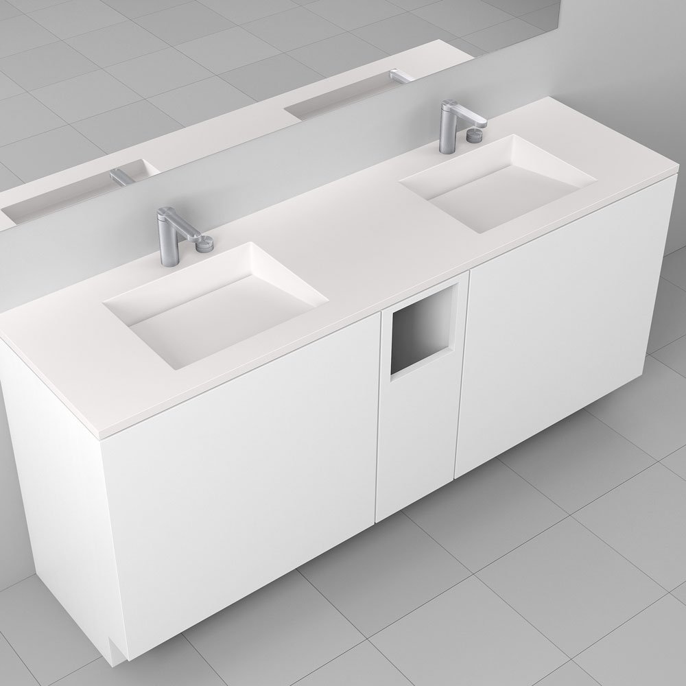Corian<sup>®</sup> Multi basin Washplane 4212
