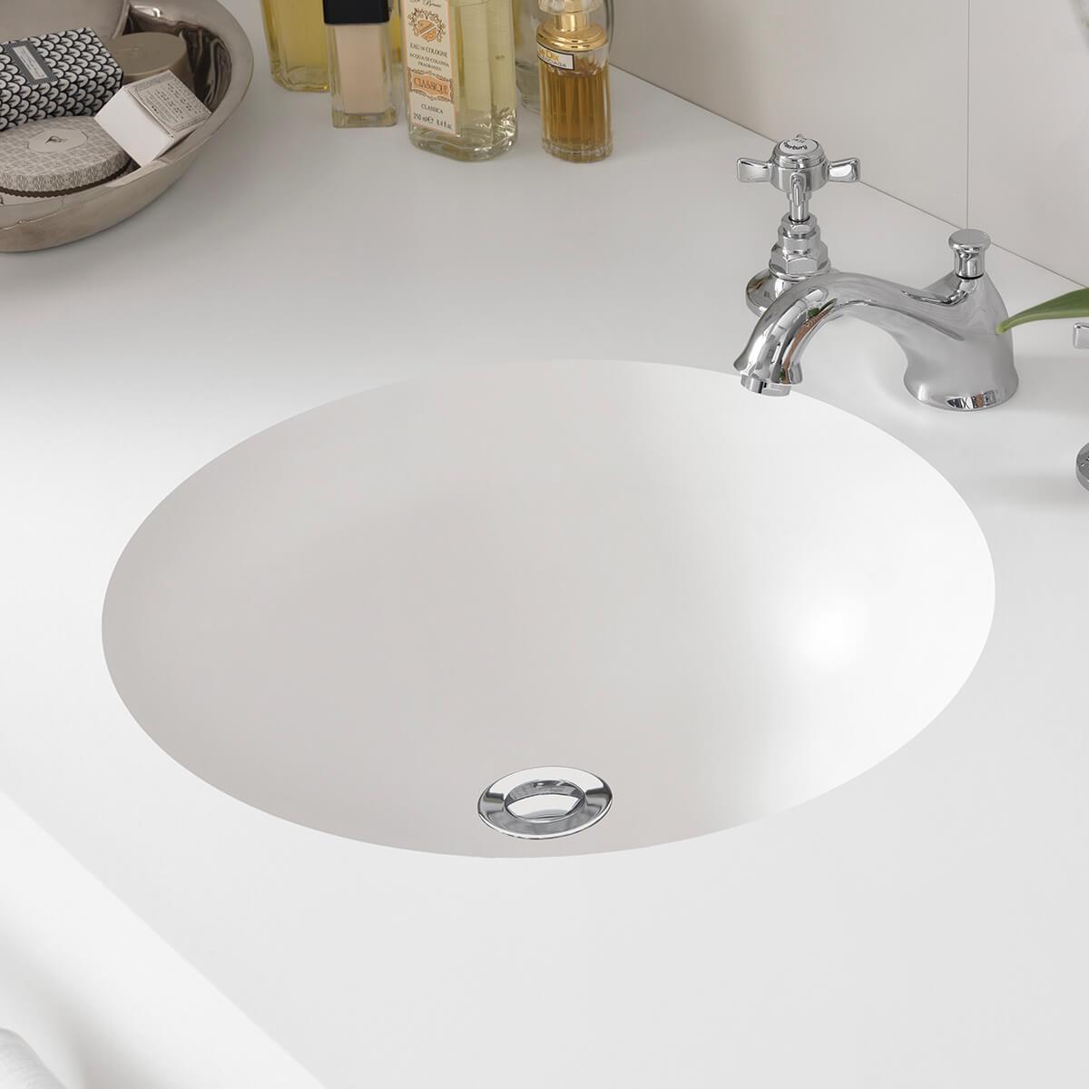 CASF corian basin smooth 8220 bathroom