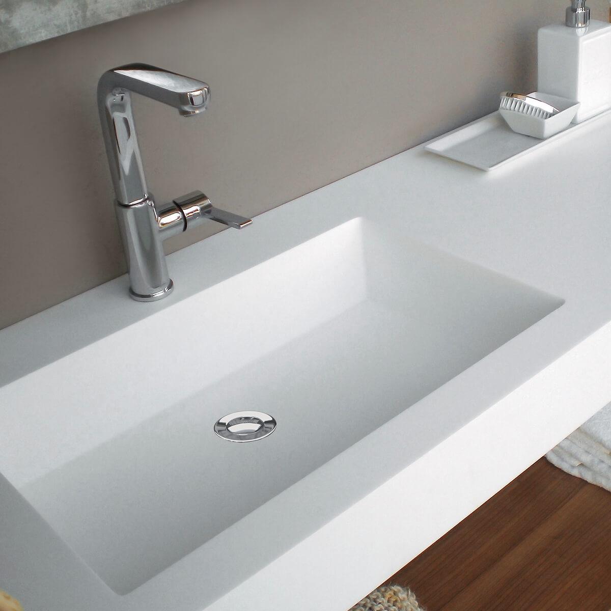 CASF corian basin smooth 8110 bathroom