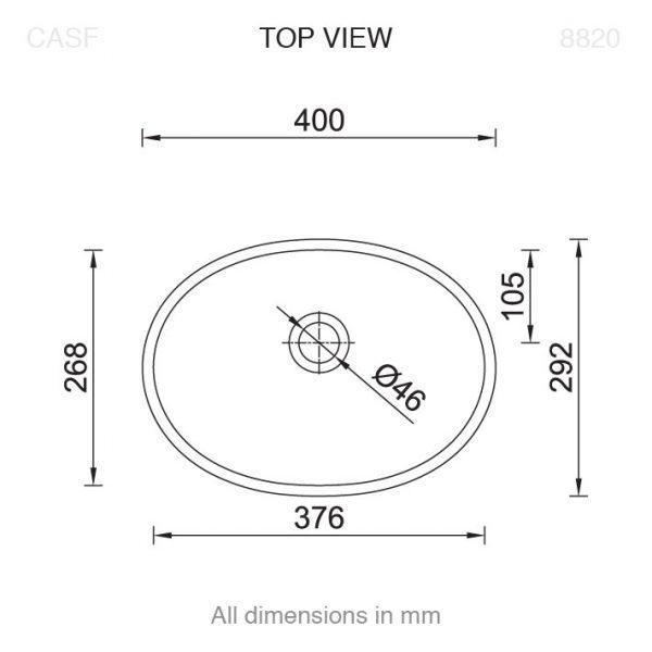 8820 Basin Top View