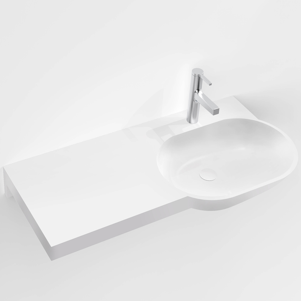 Corian<sup>®</sup> Benchtop & Basin PWD 920