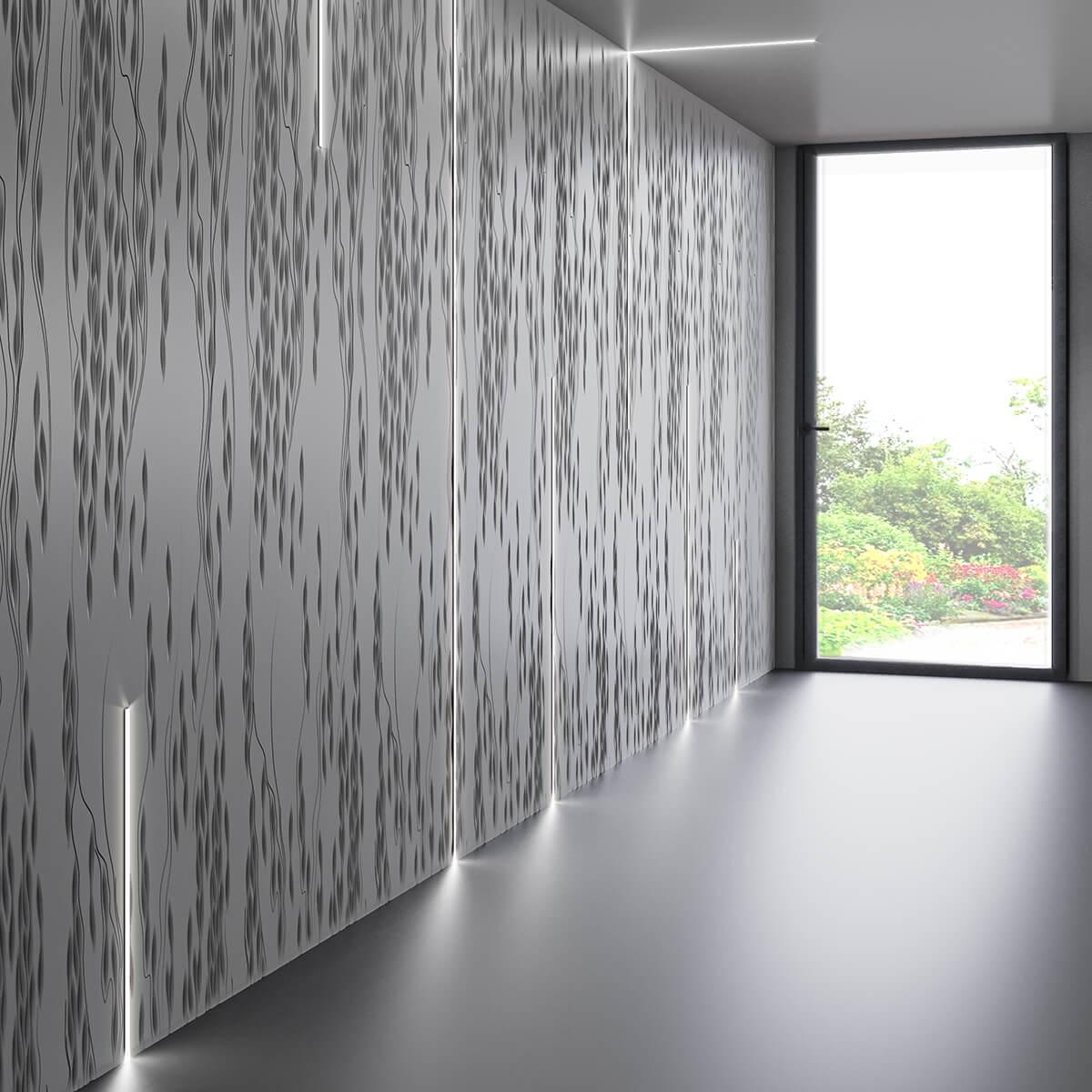 corian textured surfaces david thomas artist collection knoll application