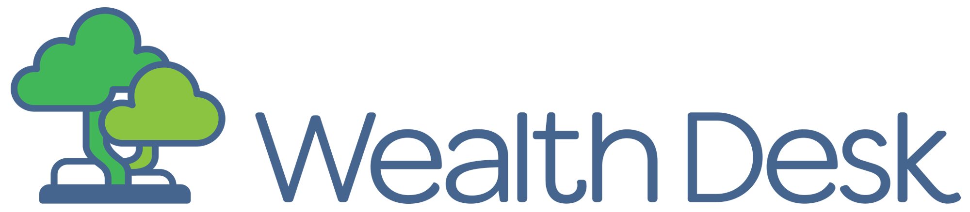 Wealth Desk Fitness Tracker Logo