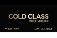 Village Cinemas Gold Class Adult eVoucher