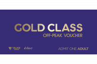 Village Cinemas Off Peak  Gold Class Adult eVoucher