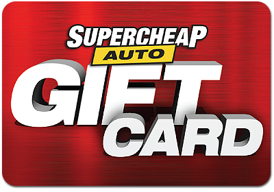 Supercheap Auto eVoucher