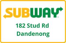 Subway Dandenong North
