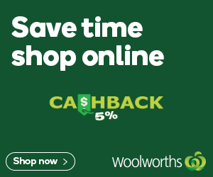 Woolworths 5% Cashback gift card