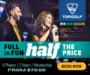 Top Golf GC, was $140 now $71.10