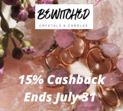 Bewitched Crystals and Candles : 15% Cashback*