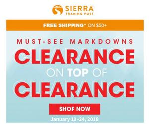 Sierra Trading Post AU
