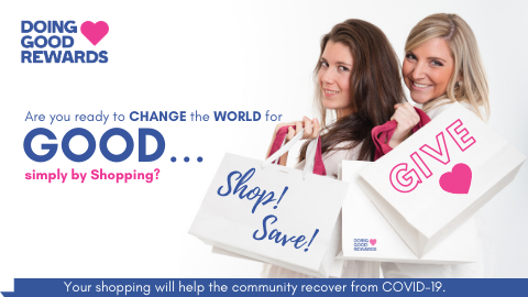 SHOPPING WITH DOING GOOD REWARDS