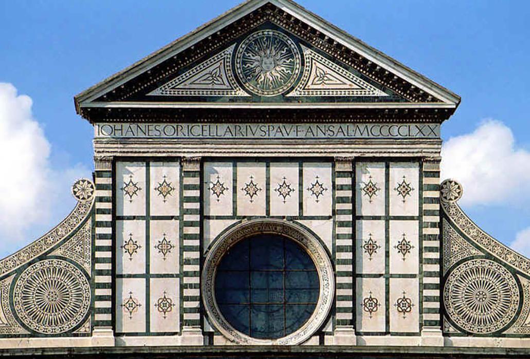 Santa Maria Novella Detail Facade