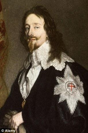 Charles 1 Pearl Earring