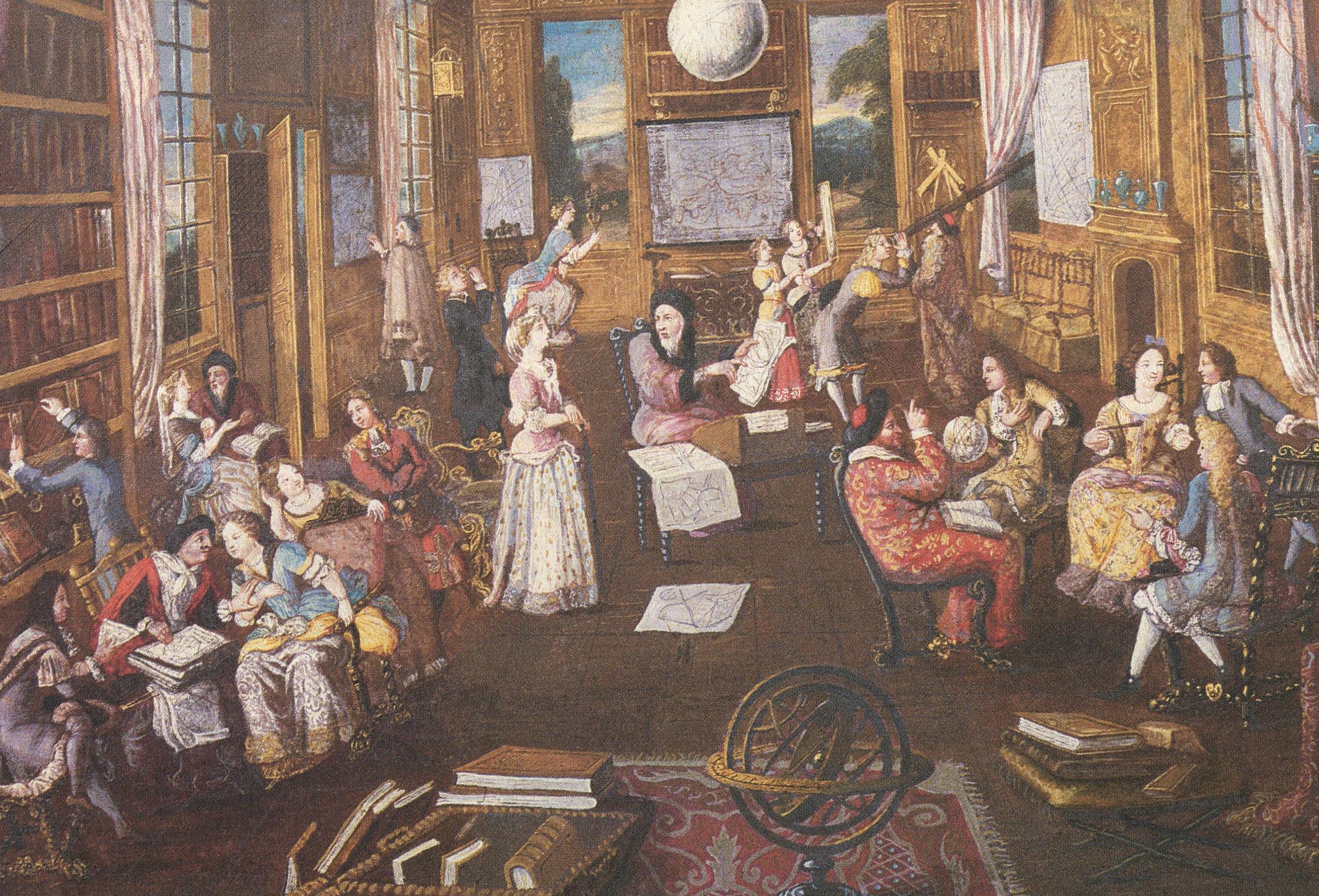 Scientific Salon French 18th century
