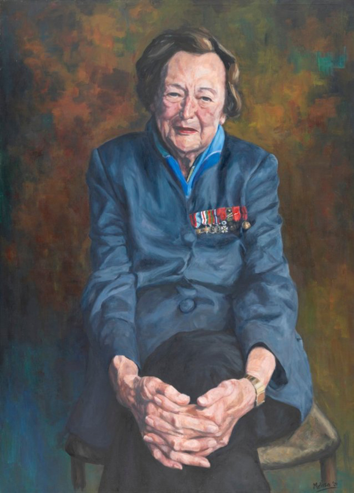 The White Mouse, Nancy Wake (2001), Melissa Beowulf, National Portrait Gallery, Canberra