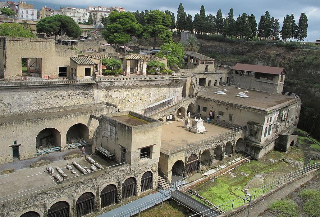 Excavations at Herculaneum
