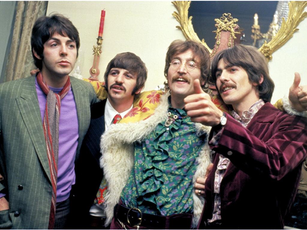 beatles-hippies