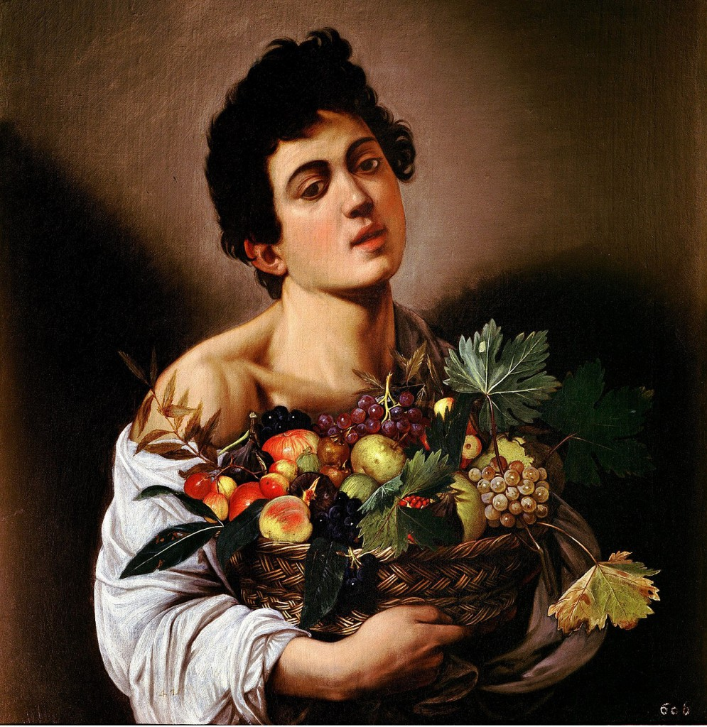 The Boy with a Basket of Fruit