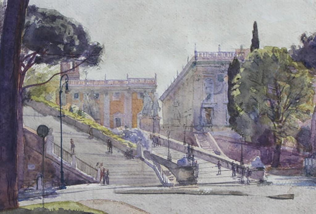Detail Spanish Steps Rome Henderson