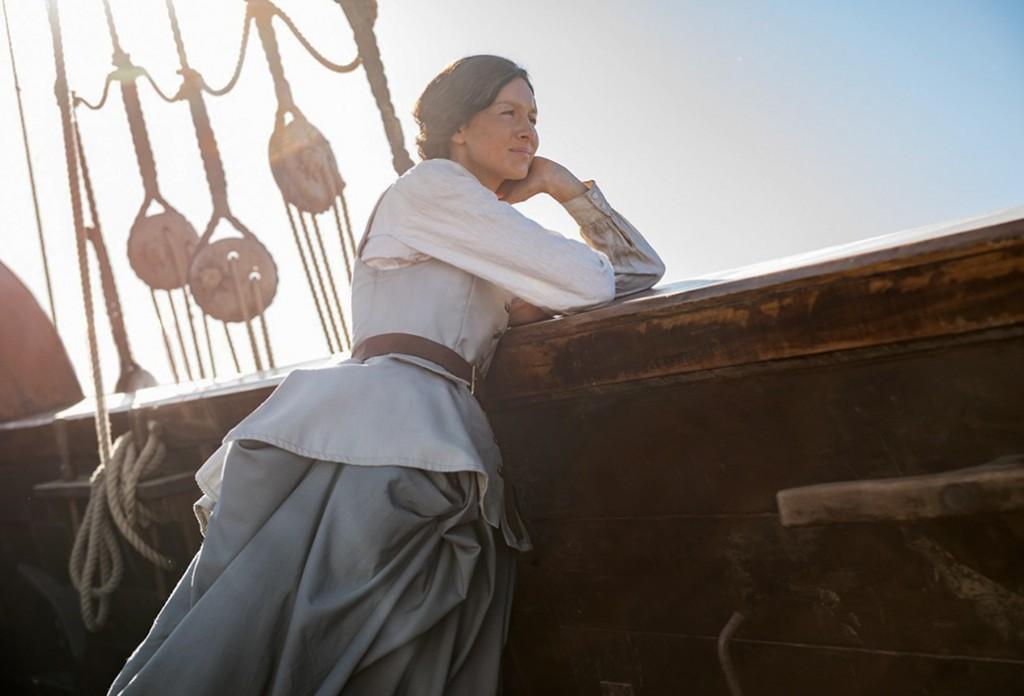 Claire at Sea 1