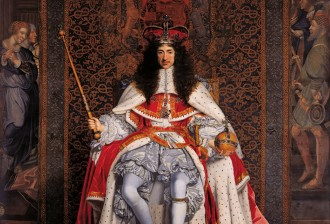 John Michael Wright, Charles II, c.1676, Royal Collection Trust © Her Majesty Queen Elizabeth II 2017