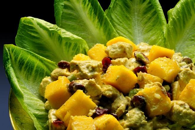 Christmas Chicken with Mango – Easy Make Ahead Festive Fare