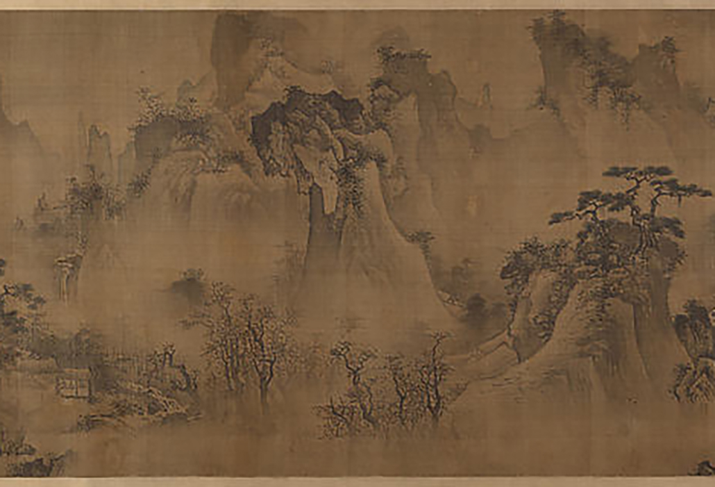 Four Seasons; Unidentified Artist Chinese, active 15th century, Ming dynasty (1368–1644), China, Handscroll: ink and colour on silk, courtesy Metropolitan Museum of Art New York
