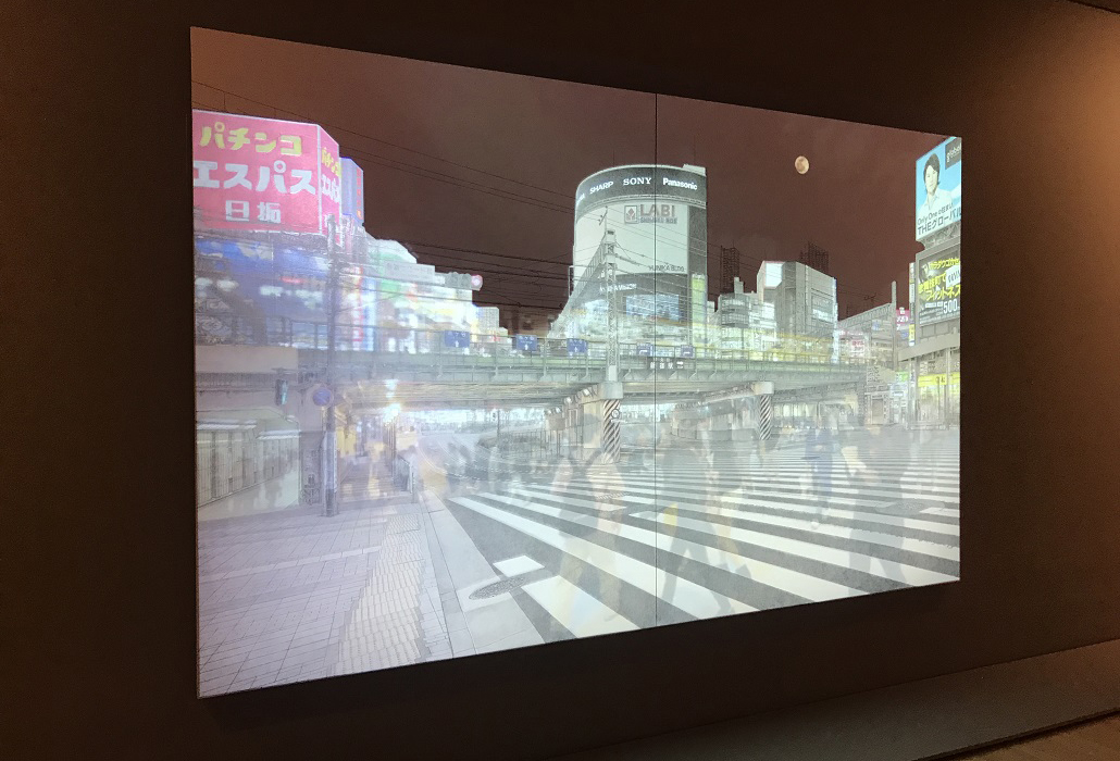 Installation view of Shinjuku Calling (2014), Yamagami, Yukihiro, on display in NGV Triennial at NGV International, 2017. Photo: Belinda McDowall
