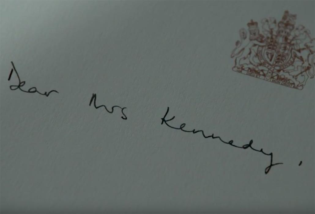 Dear Mrs Kennedy
