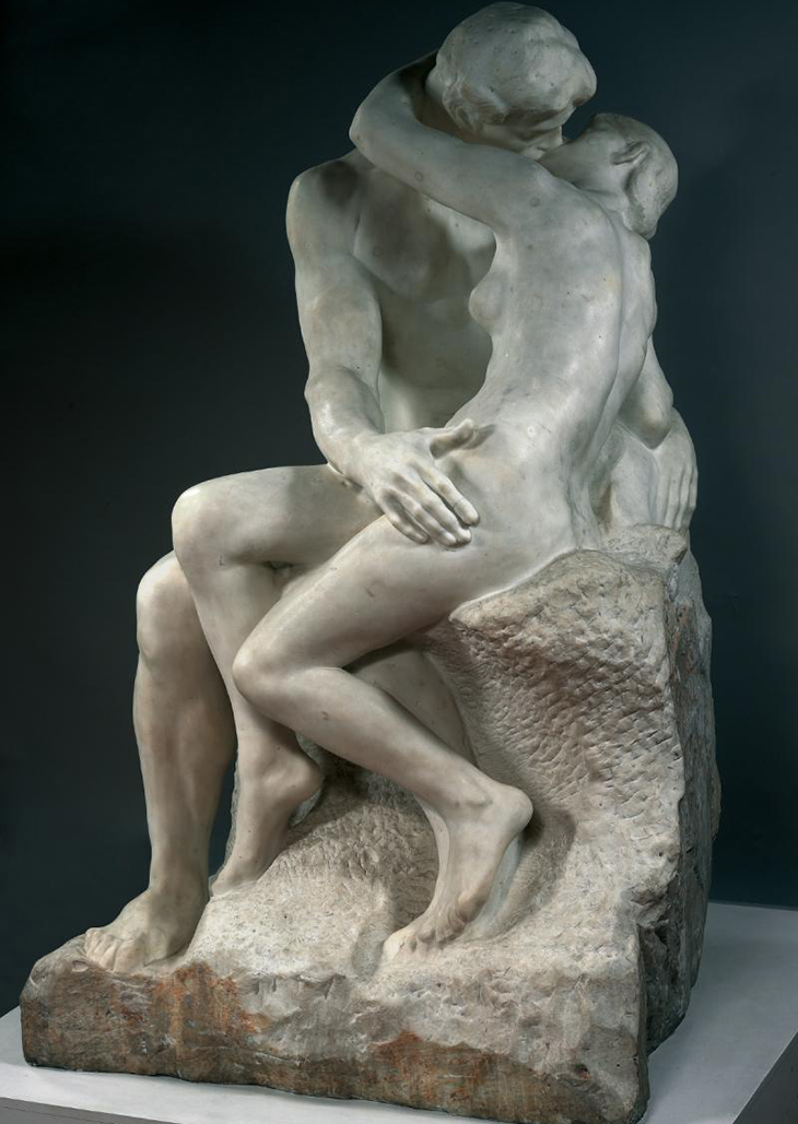 The Kiss by Rodin Complete