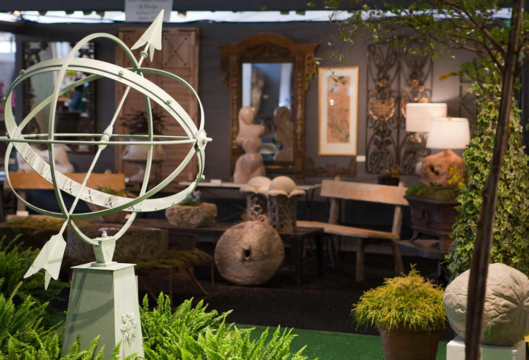 Snapshot Garden Art & Antiques Fair 2017, courtesy New York Botanical Garden