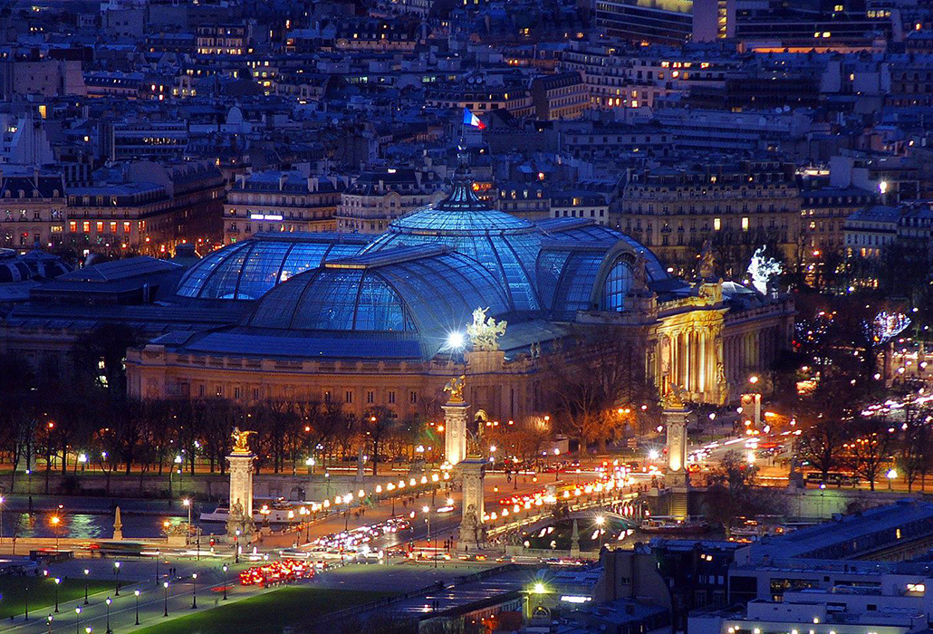 Grand Palais at Night