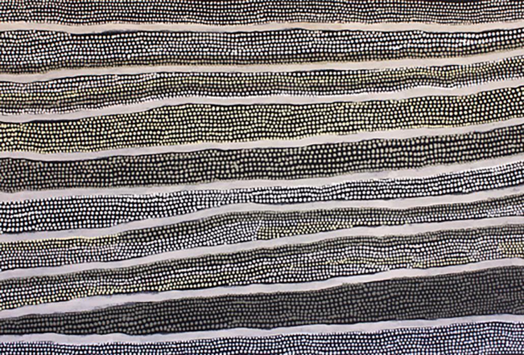 Mona Nangala - Tali (Sandhills), courtesy Honey Ant Gallery