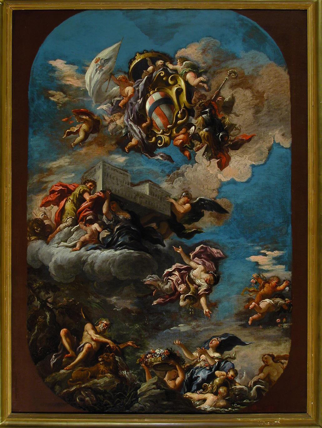 GABBIANI ANTON DOMENICO - Bozzetto per soffitto del salone del Trono