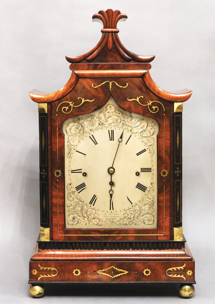 Chinoiserie Clock DR