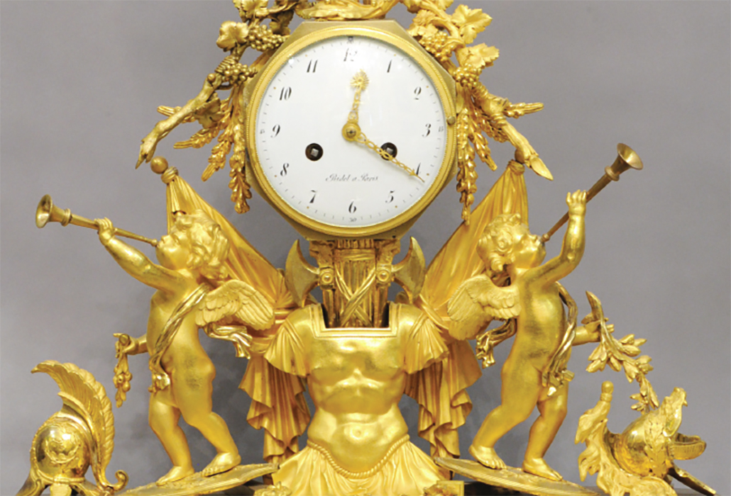 Detail Ormolu Clock DR