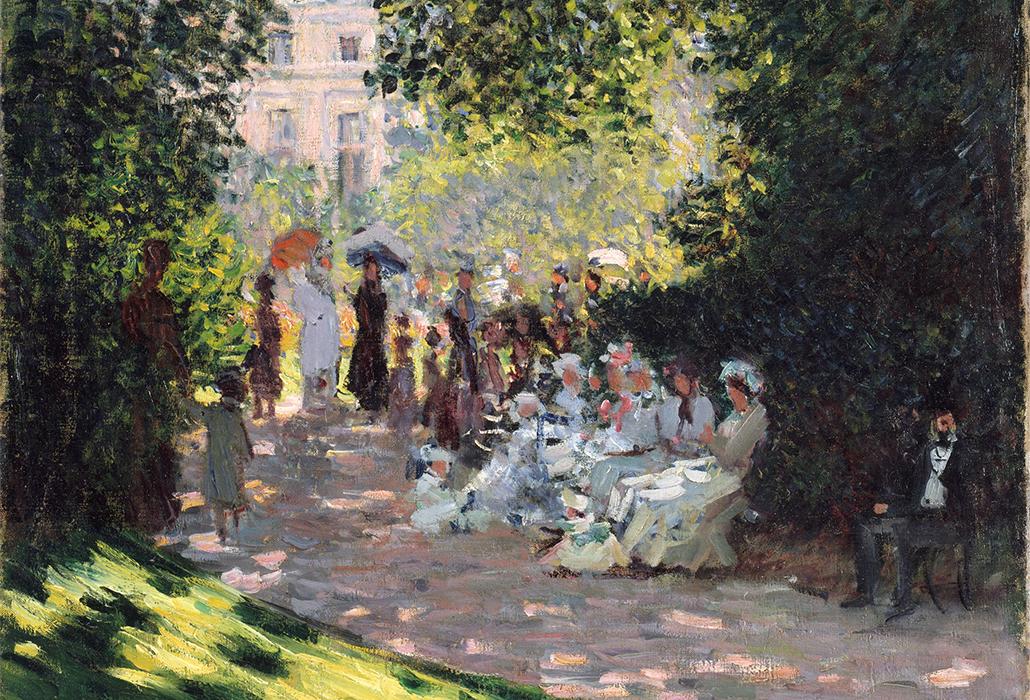 Detail Monet- Parc Monceau