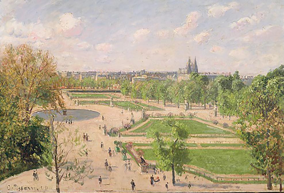 Pissarro Tuileries