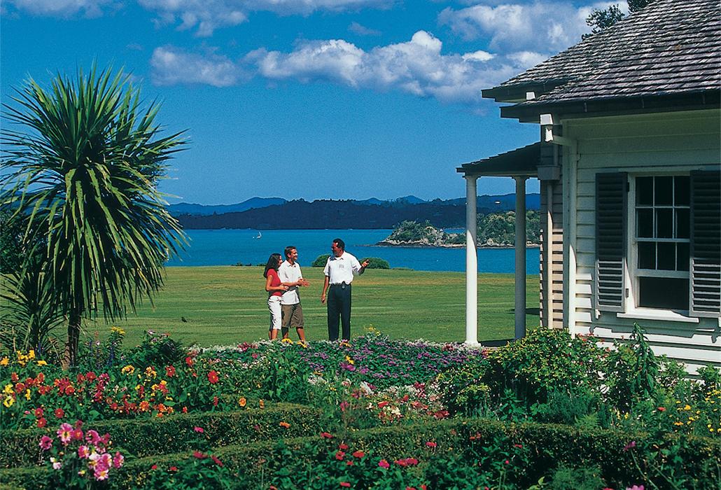 Waitangi Treaty House,